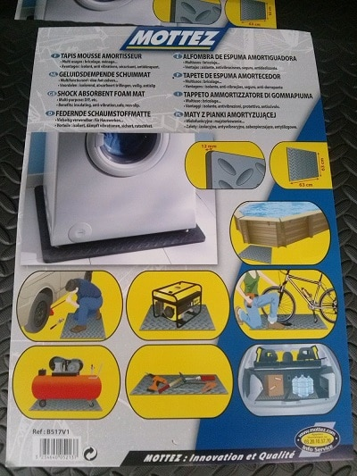 Tappeto antivibrazioni lavatrice idee per la casa - Insonorizzare camera ...